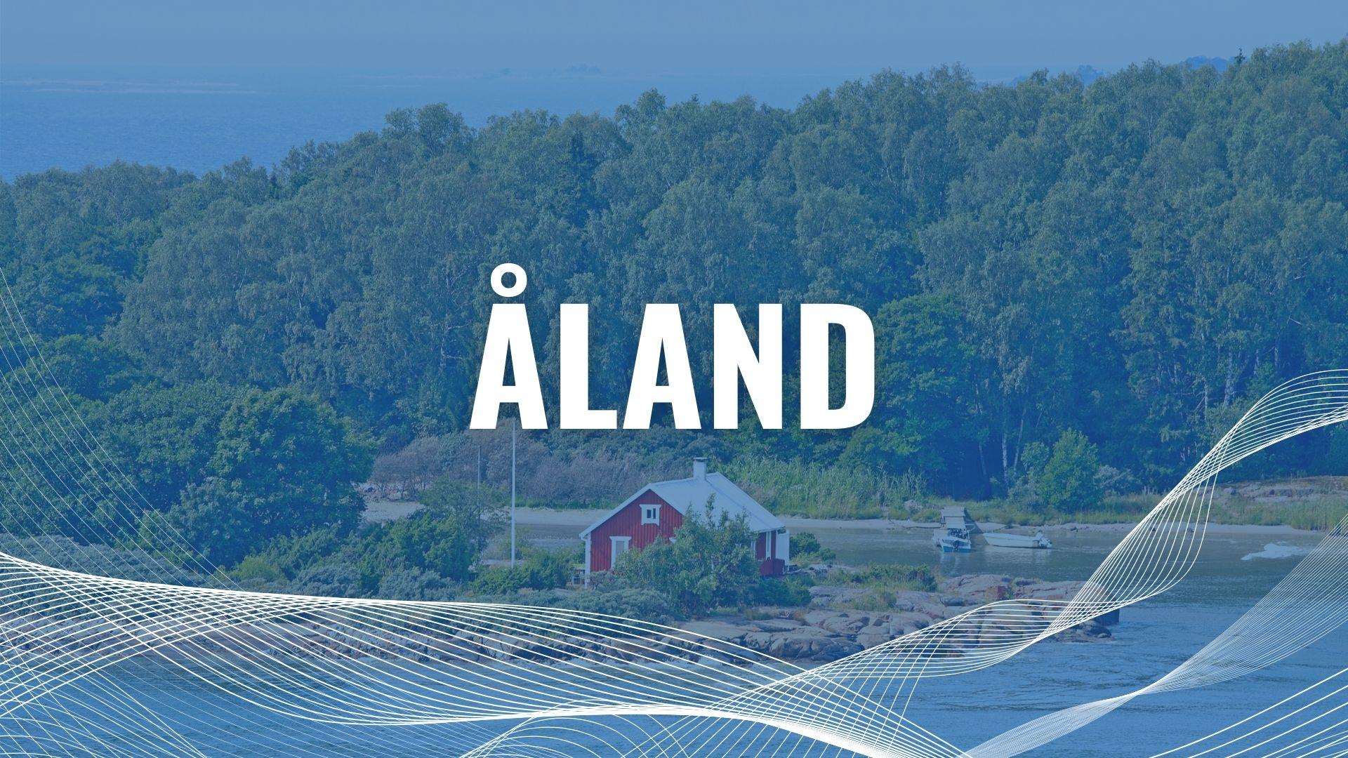 Urlaub mit der Fähre auf Åland