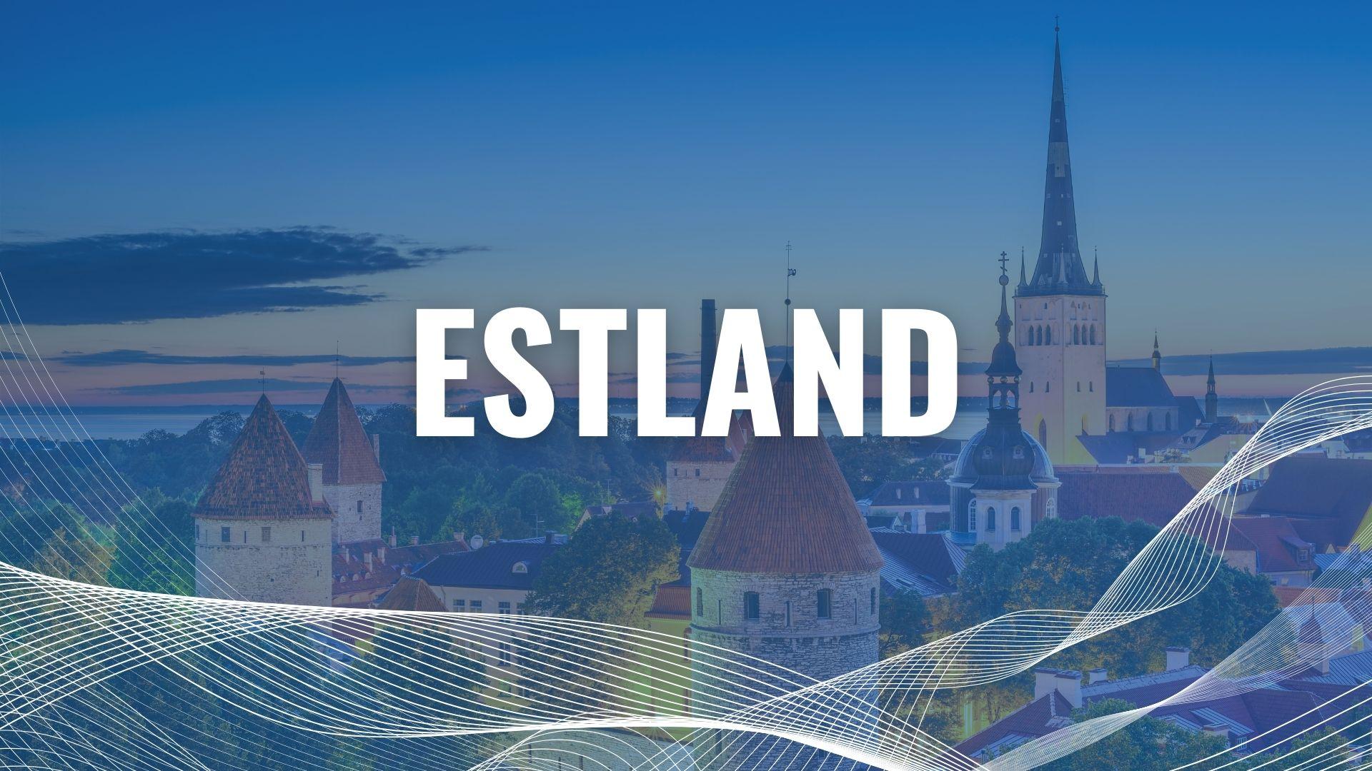 Urlaub mit der Fähre in Estland