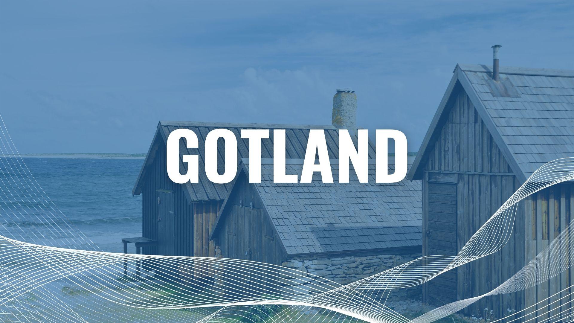 Urlaub mit der Fähre auf Gotland