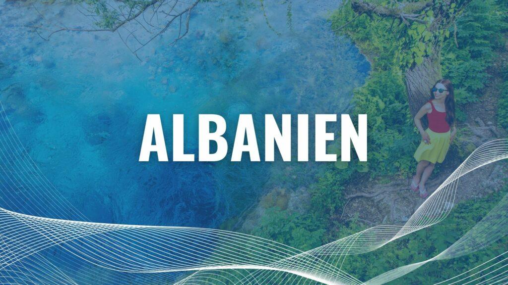 Urlaub mit der Fähre in Albanien