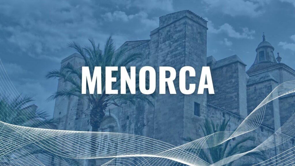 Urlaub mit der Fähre auf Menorca
