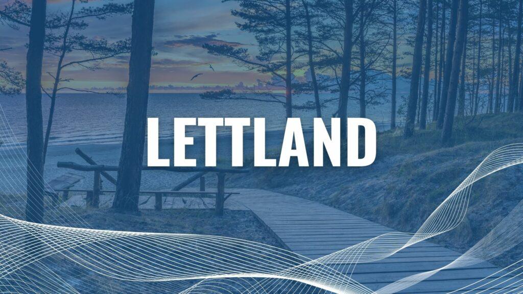 Urlaub mit der Fähre in Lettland
