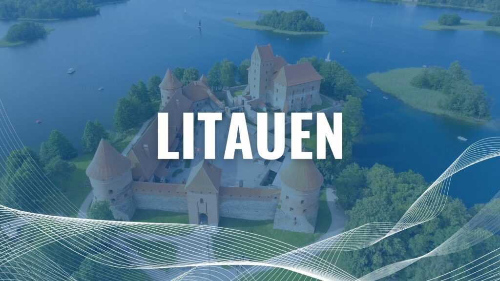 Urlaub mit der Fähre in Litauen